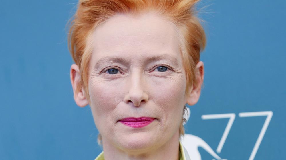 Tilda Swinton in 2020