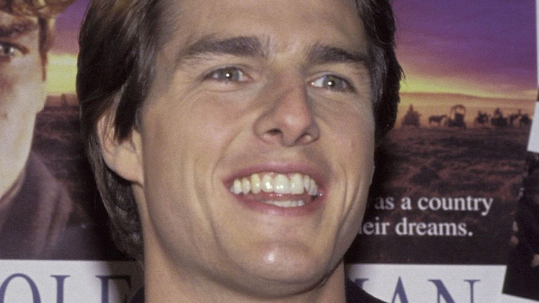 young Tom Cruise smiling