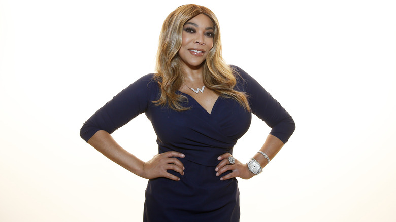 Wendy Williams hands on hips
