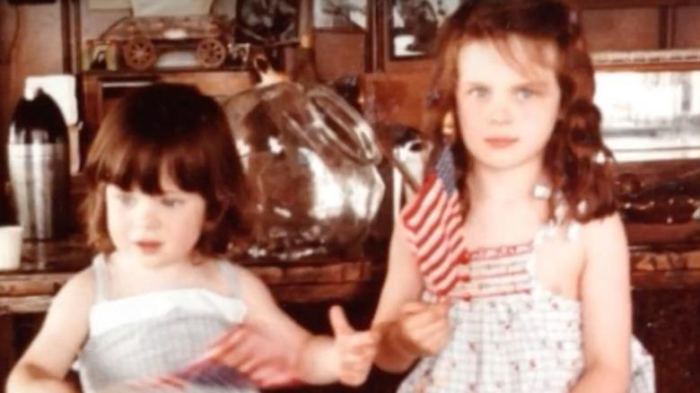 Zooey Deschanel and sister Emily Deschanel