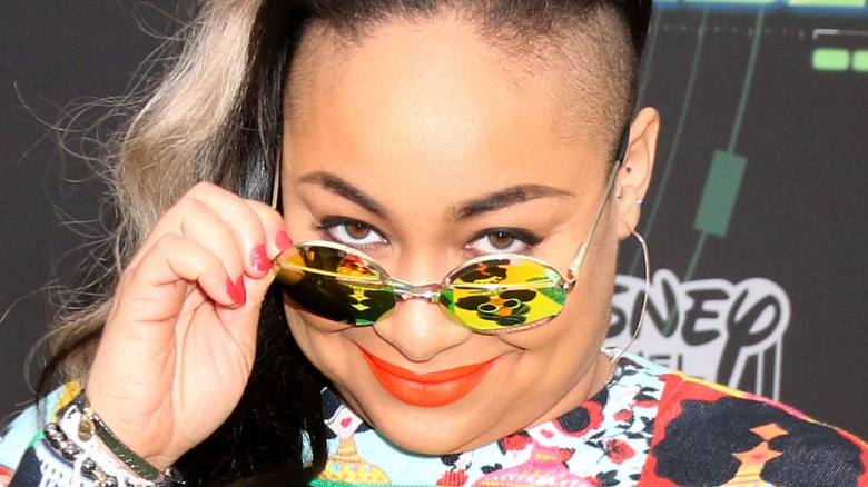 raven symone at event