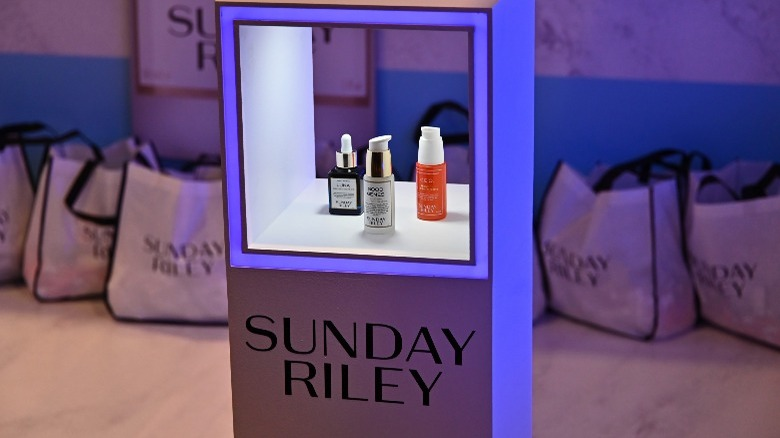 sunday riley display products