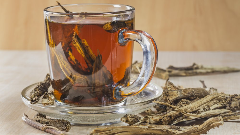 Chicory root tea