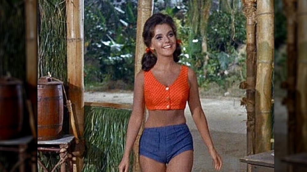 Dawn Wells in Mary Ann's high-waisted shorts