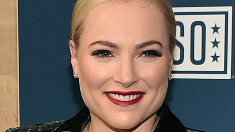 Meghan McCain at USO event, 2019