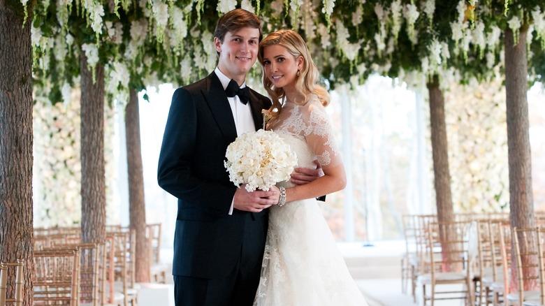 Jared Kushner, Ivanka Trump wedding photo