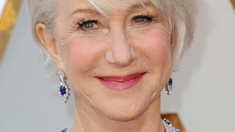 Helen Mirren at Academy Awards