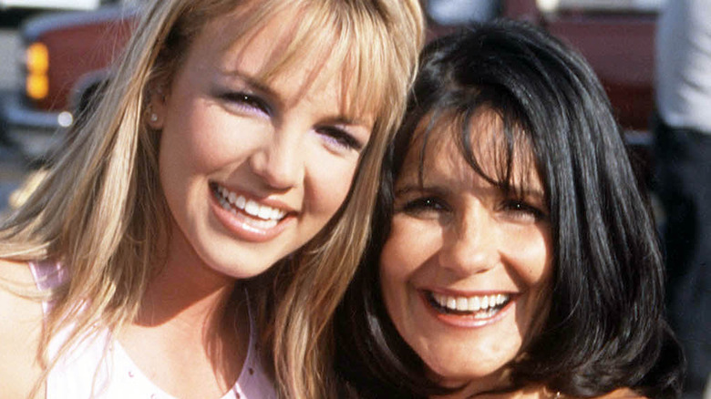 Britney Spears and her mother, Lynne Spears