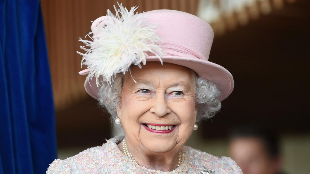 Queen Elizabeth wearing hat