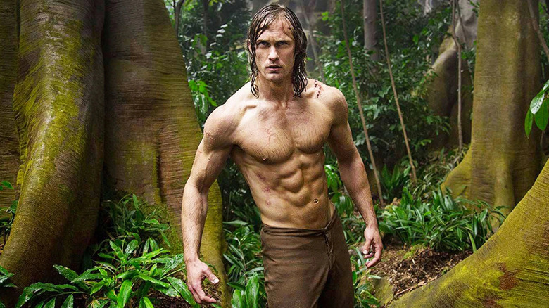 Alexander Skarsgard as Tarzan in The Legend of Tarzan