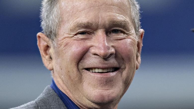 Former United States president George W. Bush