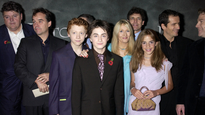 """The """"Harry Potter"""" cast attends the premiere of """"Harry Potter and the Chamber of Secrets"""""""