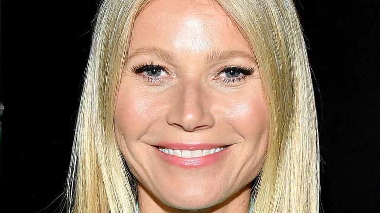 Gwyneth Paltrow before COVID-19 smiling