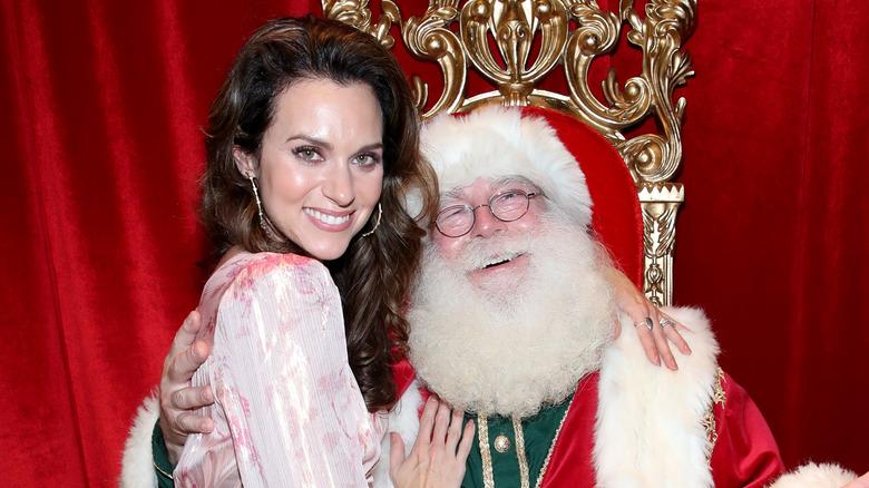 Burton and Santa