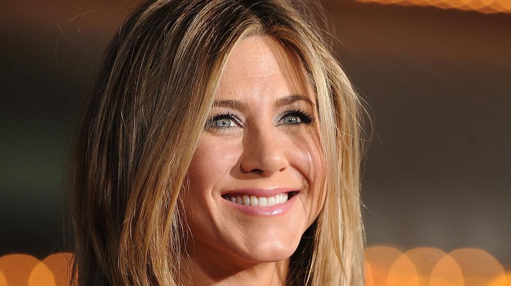 Jennifer Aniston at a red carpet event
