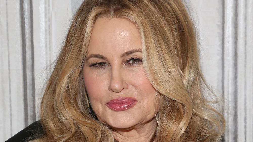 Jennifer Coolidge with curly hair
