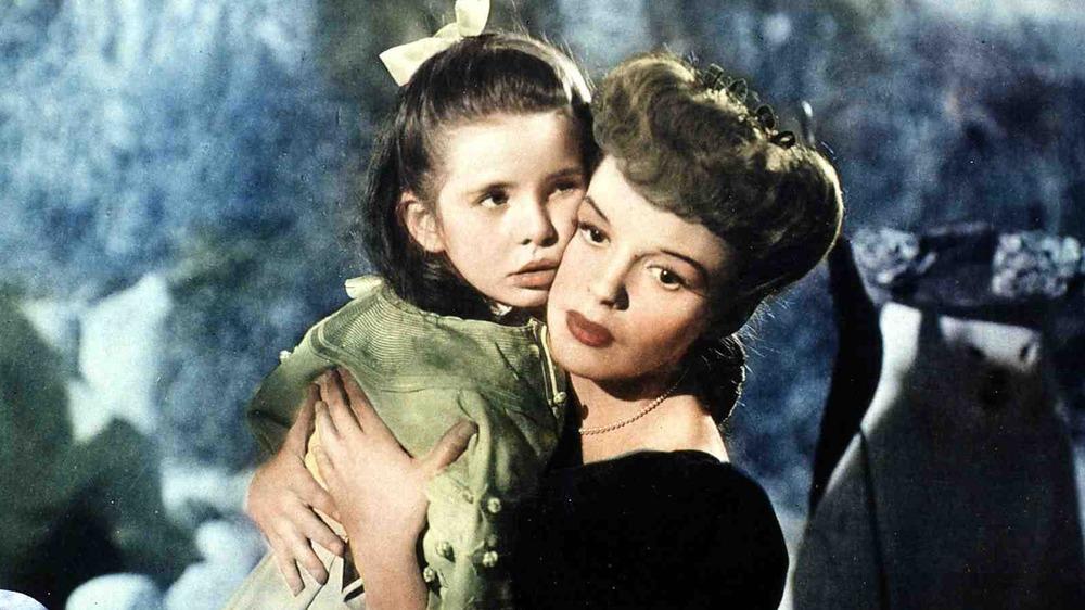 Judy Garland and Margaret O'Brien
