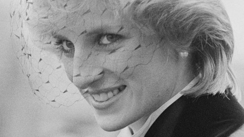 Princess Diana up close