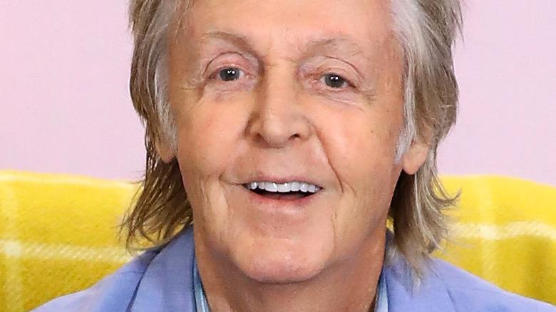 Paul McCartney blue jacket