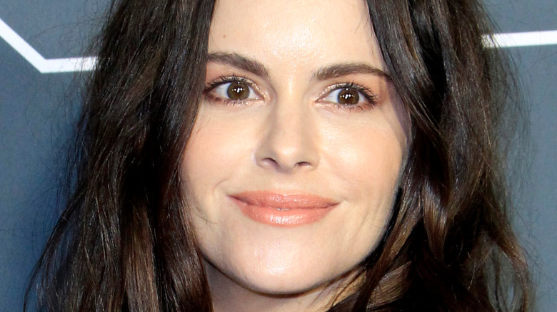 Emily Hampshire at event