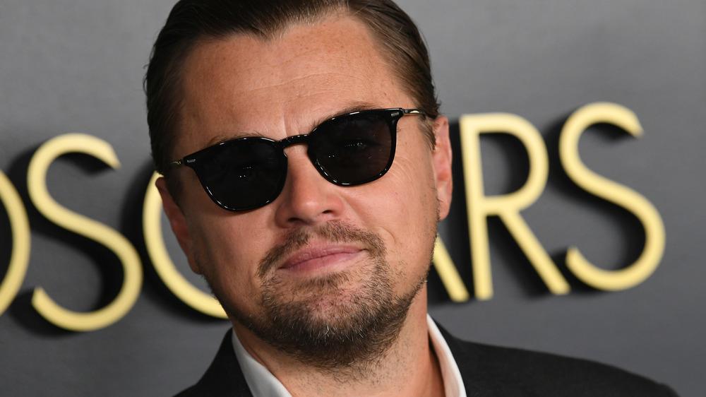 Leonardo DiCaprio at Oscars luncheon