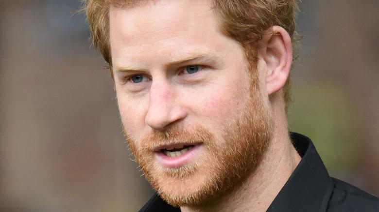 Prince Harry close up