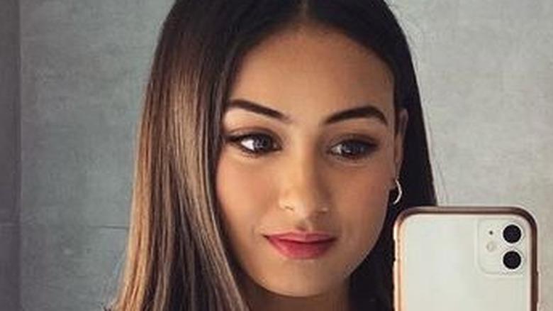 Priya Gopaldas taking a selfie