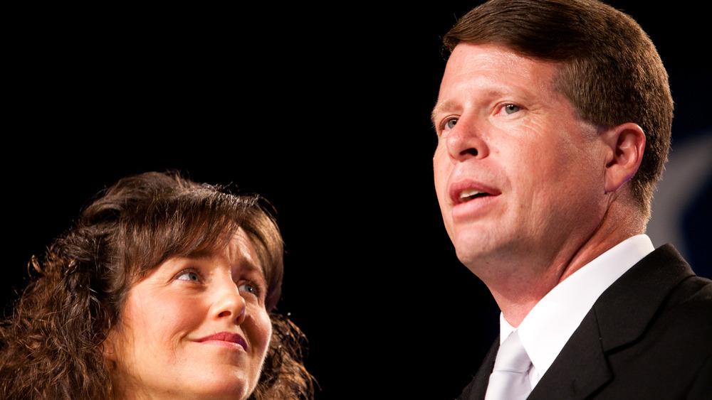 Jim Bob and Michelle Duggar smiling