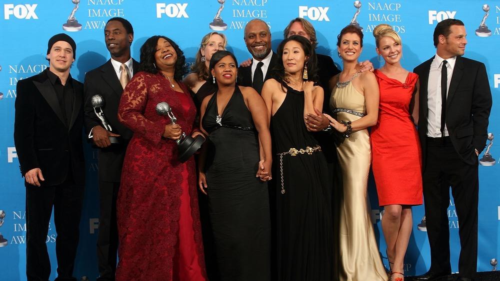 Members of the original cast of Grey's Anatomy