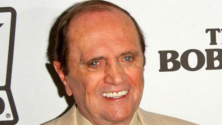 Bob Newhart smiling red carpet