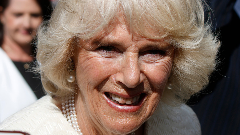 Duchess Camilla smiling