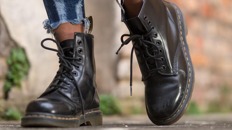 doc marten combat boots