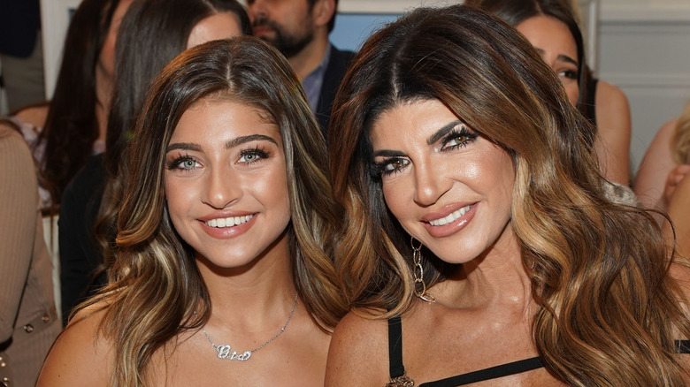 theresa and gia guidice at an event