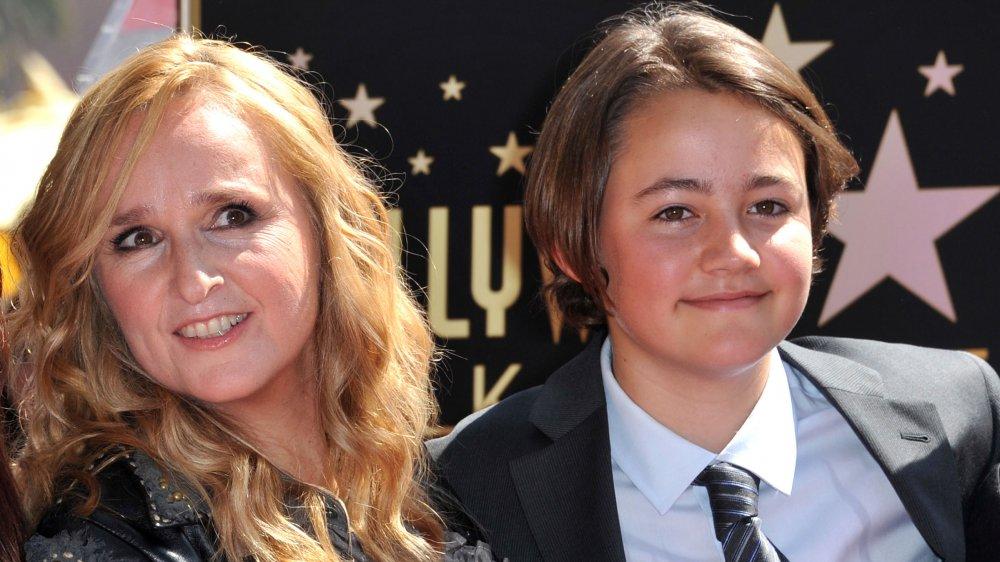 Melissa Etheridge and her son, Beckett Cypher