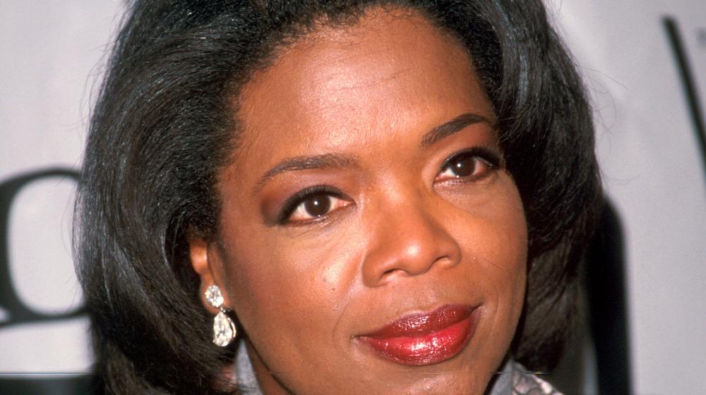 Oprah Winfrey listening
