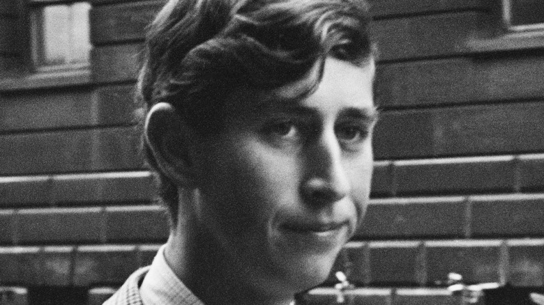 Prince Charles in 1967 close-up