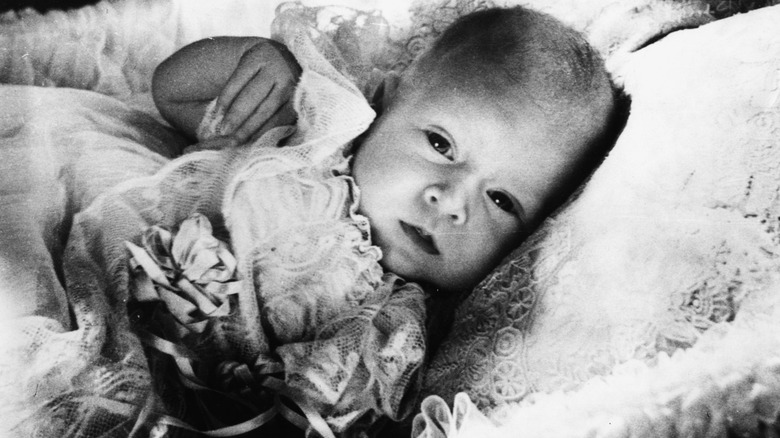 Prince Charles as an infant