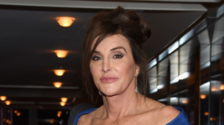 Caitlyn Jenner close-up