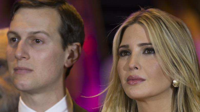 Jared Kushner and Ivanka Trump at event