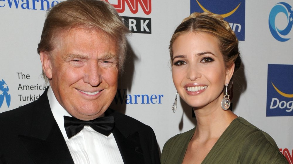 Donald Trump and daughter Ivanka Trump
