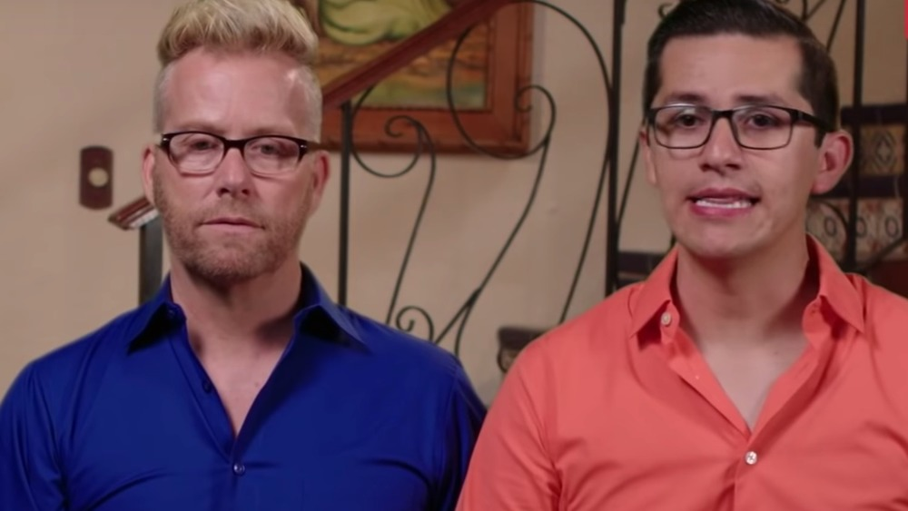 90 Day Fiance's Kenneth and Armando looking serious