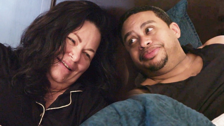Molly and her partner on 90 Day Fiance: The Single Life