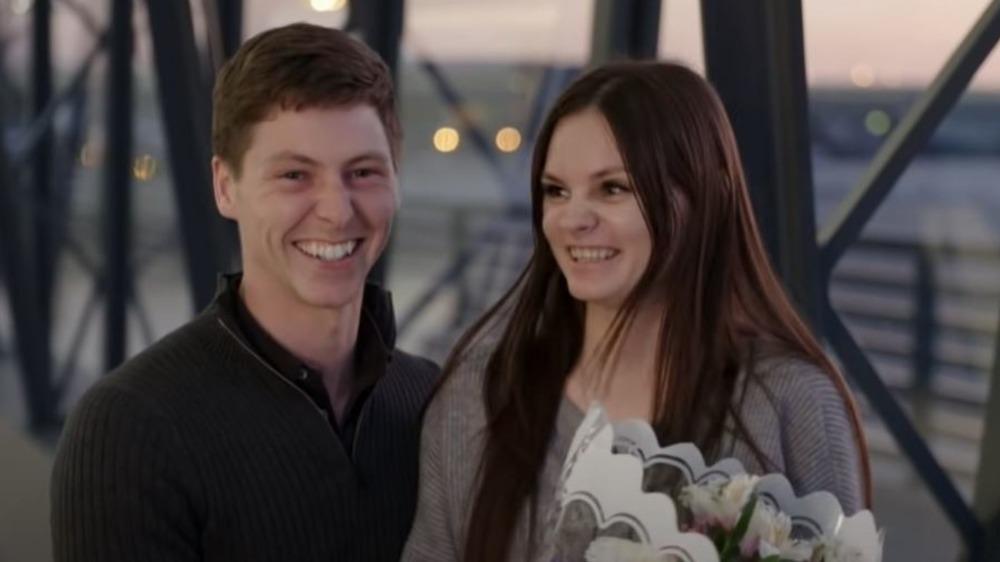 Brandon and Julia smiling