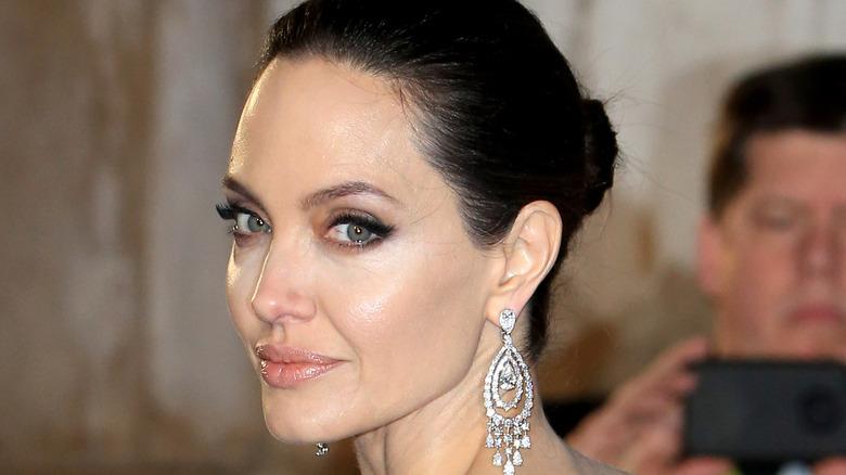 Angelina Jolie smoldering eye
