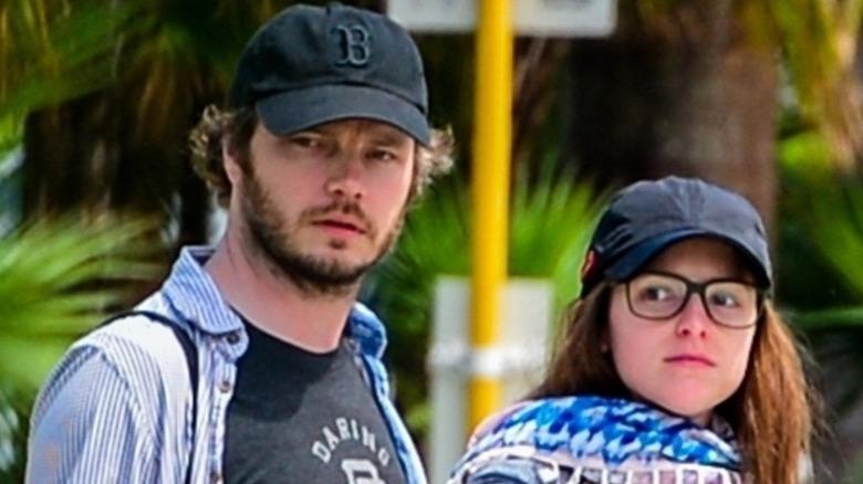 Ben Richardson and Anna Kendrick out walking