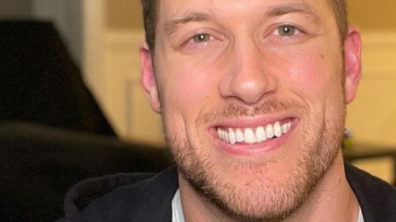 Clayton Echard smiling