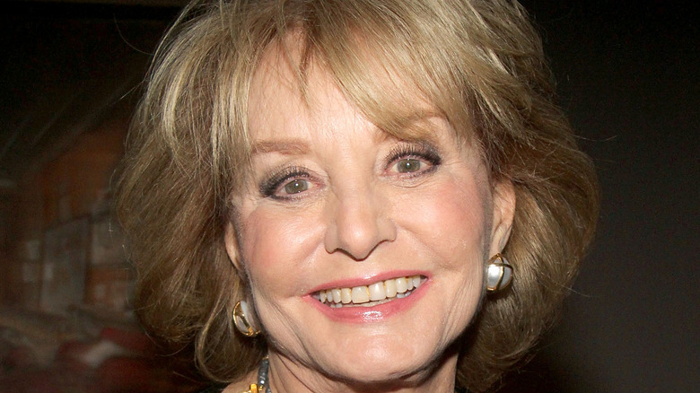 Barbara Walters smiling