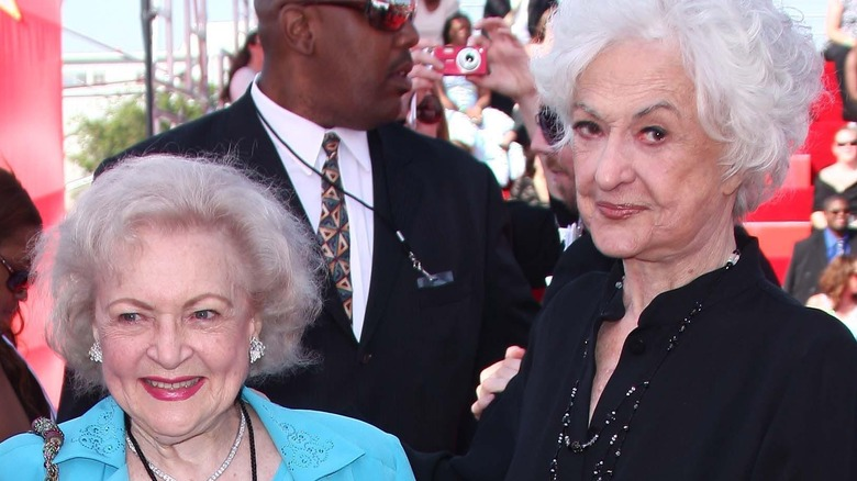 Betty White and Beatrice Arthur