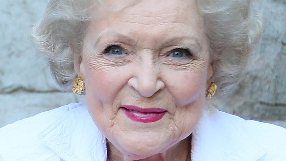 Betty White smiling