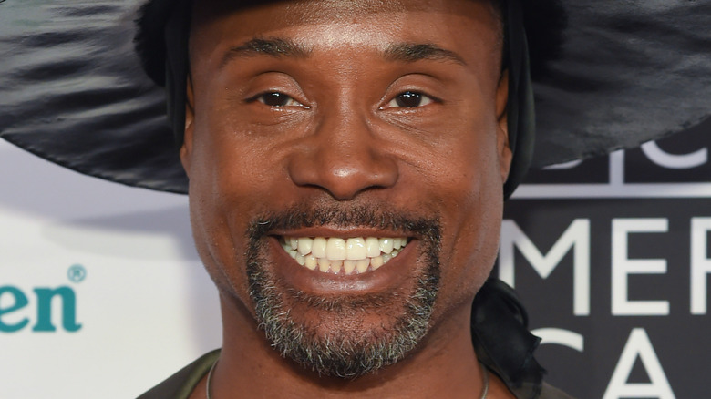 Billy Porter smiling widely